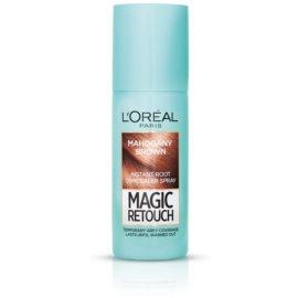 L'Oréal Paris Magic Retouch sprej pro okamžité zakrytí odrostů odstín Mahogany Brown 75 ml