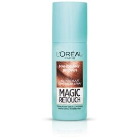 L'Oréal Paris Magic Retouch Spray zum sofortigen Kaschieren der Farbunterschiede durch nachwachsende Haare Farbton Mahogany Brown 75 ml