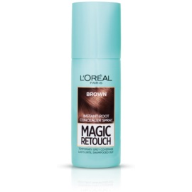 L'Oréal Paris Magic Retouch Spray zum sofortigen Kaschieren der Farbunterschiede durch nachwachsende Haare Farbton Brown 75 ml