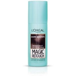 L'Oréal Paris Magic Retouch sprej pro okamžité zakrytí odrostů odstín Dark Brown 75 ml