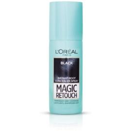 L'Oréal Paris Magic Retouch Spray zum sofortigen Kaschieren der Farbunterschiede durch nachwachsende Haare Farbton Black 75 ml