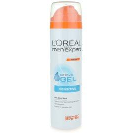L'Oréal Paris Men Expert Hydra Sensitive Scheergel  voor Gevoelige Huid   200 ml