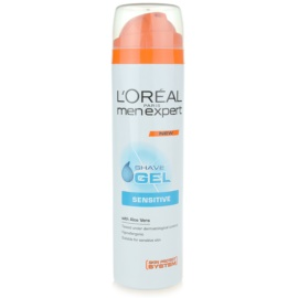 L'Oréal Paris Men Expert Hydra Sensitive Shaving Gel For Sensitive Skin  200 ml