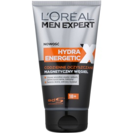 L'Oréal Paris Men Expert Hydra Energetic X čisticí gel s magnetickým uhlím  150 ml