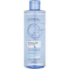 L'Oréal Paris Micellar Water Mizellarwasser für normale und gemischt empfindliche Haut  400 ml