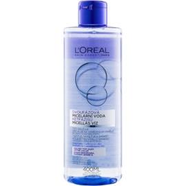 L'Oréal Paris Micellar Water двуфазна мицеларна вода за всички видове кожа, включително и чувствителна   400 мл.