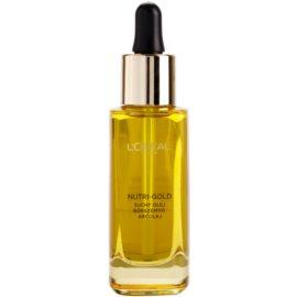 L'Oréal Paris Nutri-Gold aceite facial a base de 8 aceites esenciales   30 ml