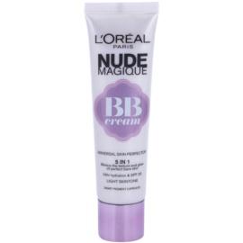 L'Oréal Paris Nude Magique BB krém 5 in 1 SPF 20 árnyalat Light Skin Tone (BB Cream Bare Skin Beautifier) 30 ml