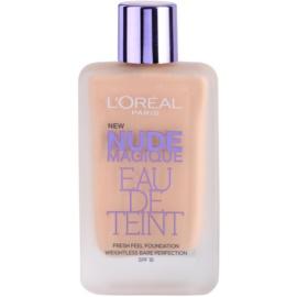 L'Oréal Paris Nude Magique Eau De Teint tekutý make-up pro nahé líčení odstín 190 Beige Rose  20 ml