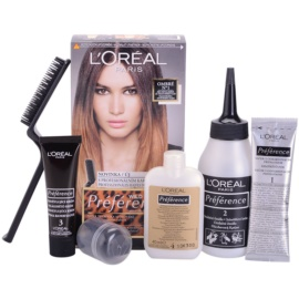 L'Oréal Paris Préférence Wild Ombrés coloração de cabelo tom N1