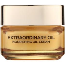 L'Oréal Paris Extraordinary Oil поживний крем на основі олійки проти ознак втоми  50 мл
