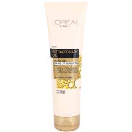 L'Oréal Paris Extraordinary Oil odličovací krémový gel 3 v 1  150 ml
