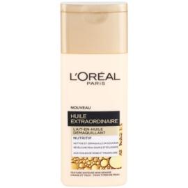 L'Oréal Paris Extraordinary Oil odżywcze mleczko do demakijażu z olejkami  200 ml