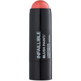 L'Oréal Paris Infallible Paint Chubby blush cremos culoare Pinkabilly 7 g