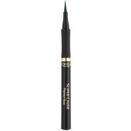 L'Oréal Paris Super Liner Perfect Slim tekuté oční linky odstín Green 7 g