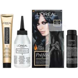 L'Oréal Paris Préférence фарба для волосся відтінок P12 Blue Black Pearl