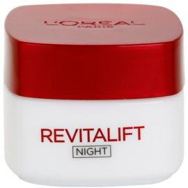 L'Oréal Paris Revitalift noční zpevňující a protivráskový krém pro všechny typy pleti  50 ml