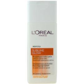 L'Oréal Paris Sublime Glow mleczko oczyszczające  200 ml