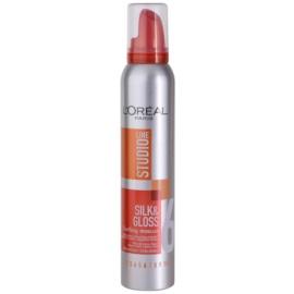 L'Oréal Paris Studio Line Silk&Gloss Curl Power espuma para formação de ondas  200 ml
