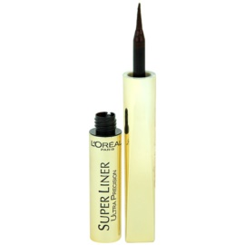 L'Oréal Paris Super Liner Ultra Precision eyeliner culoare Brown 6 ml