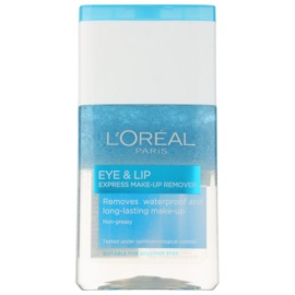 L'Oréal Paris Skin Perfection Two - Phase Make-Up Remover For Eye Area And Lips  125 ml