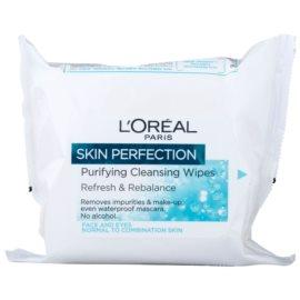 L'Oréal Paris Skin Perfection Reinigungstücher für normale Haut und Mischhaut  25 St.