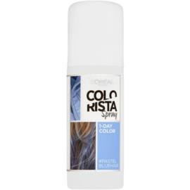 L'Oréal Paris Colorista Spray Haarfarbe im Spray Farbton Pastel Blue  75 ml