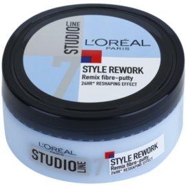 L'Oréal Paris Studio Line Style Rework krem modelujący Remix Fibre-putty 7 150 ml