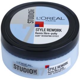 L'Oréal Paris Studio Line Style Rework modelačný krém Remix Fibre-putty 7 150 ml