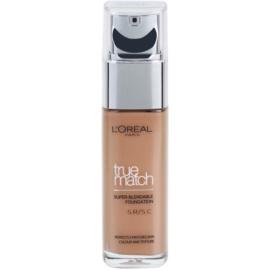 L'Oréal Paris True Match folyékony make-up árnyalat 5D/5W Golden Sand 30 ml