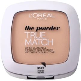 L'Oréal Paris True Match pudra compacta culoare 1R/1C Rose Ivory 9 g