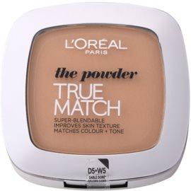 L'Oréal Paris True Match kompaktní pudr odstín 5D/5W Golden Sand 9 g