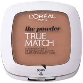 L'Oréal Paris True Match kompaktní pudr odstín D6/W6 Honey 9 g