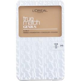 L'Oréal Paris True Match Genius maquillaje compacto 4 en 1 tono 1.5.N Linen SPF 30 7 g