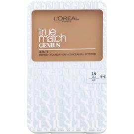 L'Oréal Paris True Match Genius Compact Foundation 4 In 1 Color 5.N Sand 7 g