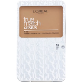 L'Oréal Paris True Match Genius maquillaje compacto 4 en 1 tono 5.N Sand 7 g