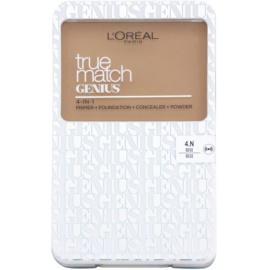 L'Oréal Paris True Match Genius maquillaje compacto 4 en 1 tono 4.N Beige SPF 30 7 g