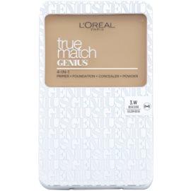 L'Oréal Paris True Match Genius тональна пудра 4 в 1 відтінок 3.W Golden Beige SPF 30 7 гр