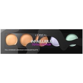L'Oréal Paris Infaillible Total Cover paleta corectoare  10 g