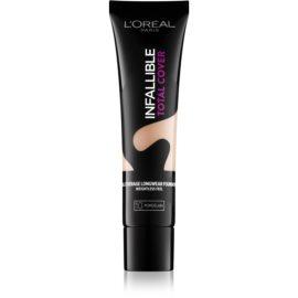 L'Oréal Paris Infallible Total Cover machiaj persistent cu efect matifiant culoare 10 Porcelain 35 g