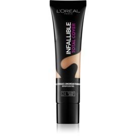 L'Oréal Paris Infallible Total Cover machiaj persistent cu efect matifiant culoare 24 Golden Beige 35 g