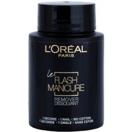 L'Oréal Paris Flash Manicure Remover odlakovač na nehty  75 ml