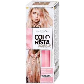 L'Oréal Paris Colorista Washout ideiglenes festék hajra hajra árnyalat Pink  80 ml