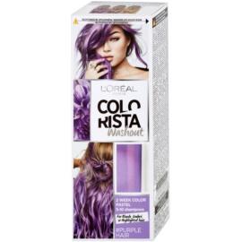 L'Oréal Paris Colorista Washout Culoare temporară par culoare Purple  80 ml