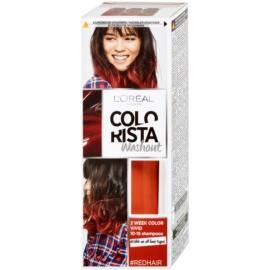L'Oréal Paris Colorista Washout ideiglenes festék hajra hajra árnyalat Red  80 ml