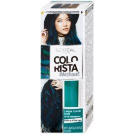 L'Oréal Paris Colorista Washout ideiglenes festék hajra hajra árnyalat Turquoise  80 ml