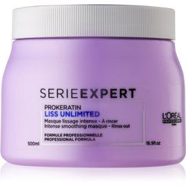 L'Oréal Professionnel Serie Expert Liss Unlimited intenzivní maska pro uhlazení vlasů  500 ml