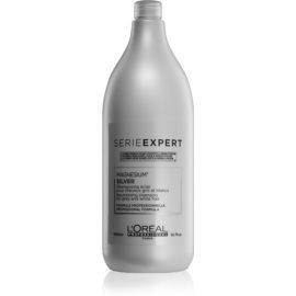 L'Oréal Professionnel Serie Expert Silver zilvershampoo neutraliseert gele Tinten  1500 ml