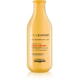 L'Oréal Professionnel Série Expert Solar Sublime регенериращ шампоан  за изтощена от слънце коса  300 мл.