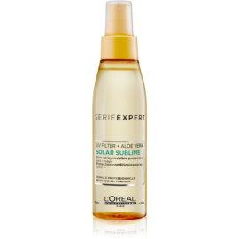 L'Oréal Professionnel Serie Expert Solar Sublime spray do włosów do włosów narażonych na szkodliwe działanie promieni słonecznych z filtrem UV  125 ml